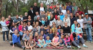 Group photo from Fellowship Camp 2016